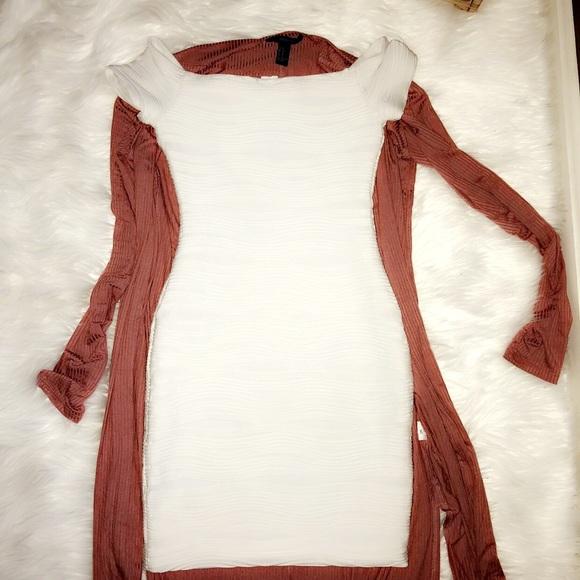 f1f6f22004e4 White Textured Bodycon Dress XS. M 5a70e7421dffda374a0ad3cb